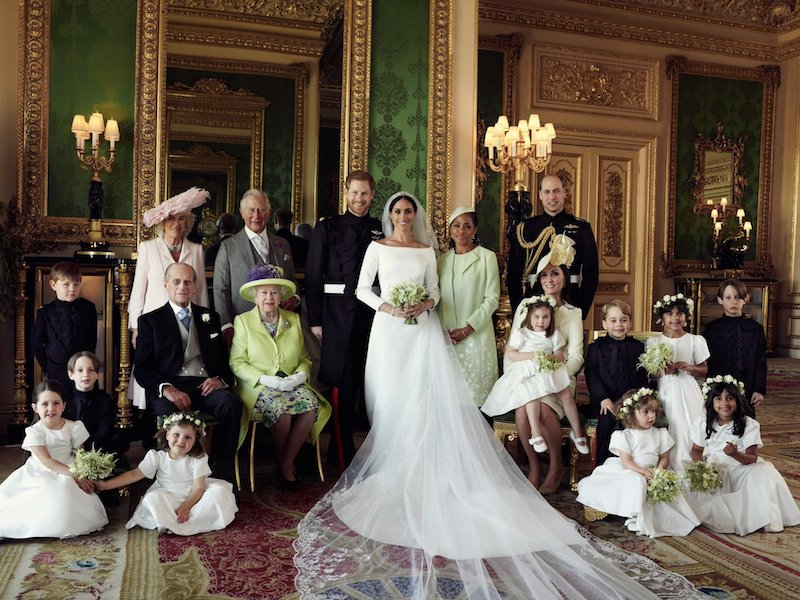 Official Royal Wedding Photographs Released. Photo credit Alexi Lubomirski.