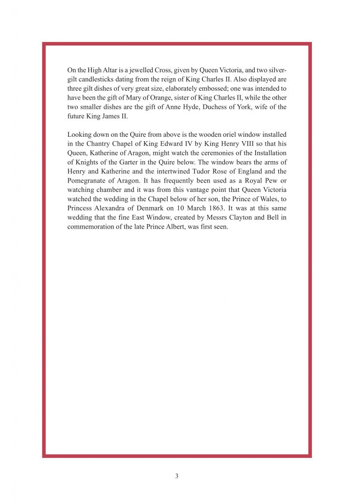 Royal Wedding Order of Service Page 4