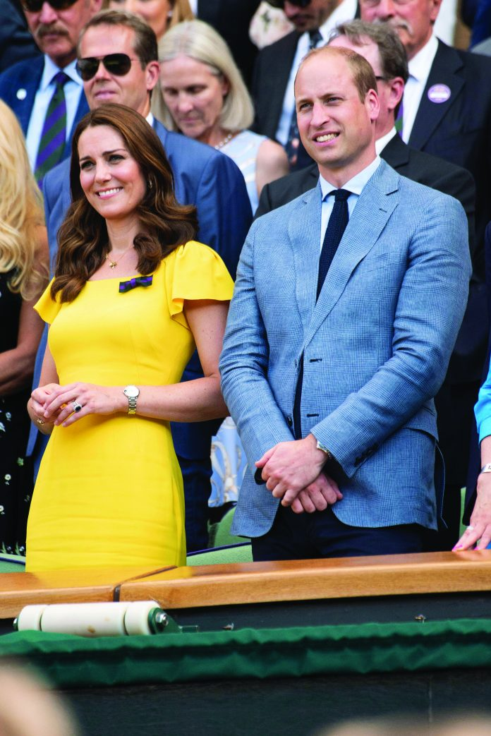 The Duke of Cambridge and Duchess of Cambridge