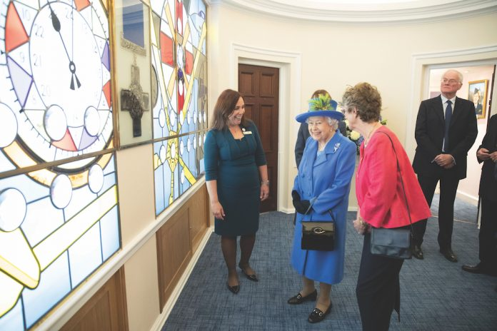 Royal visit to Royal Air Force Club