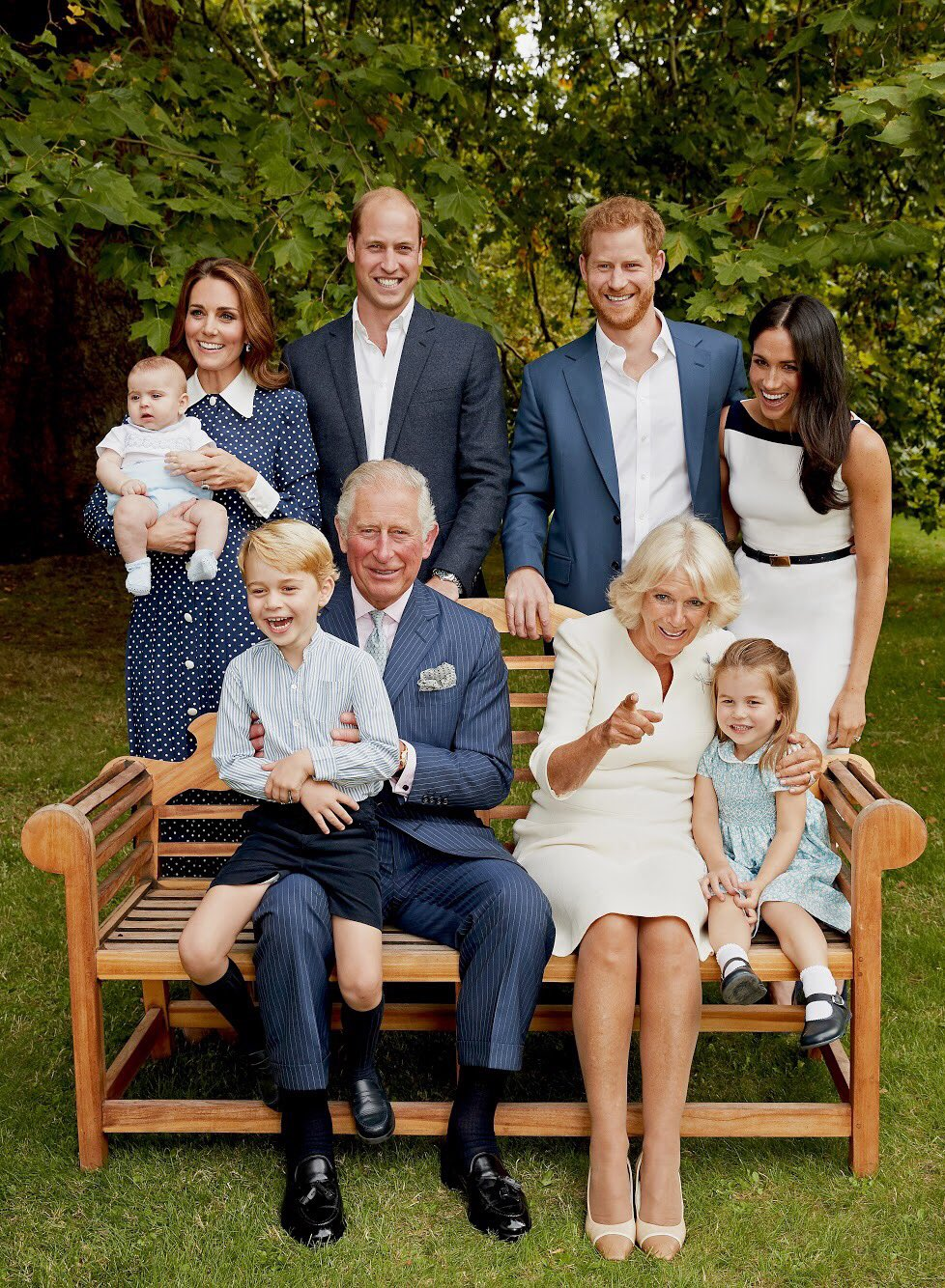 New Family Photographs Released to Mark The Prince of Wales's 70th Birthday