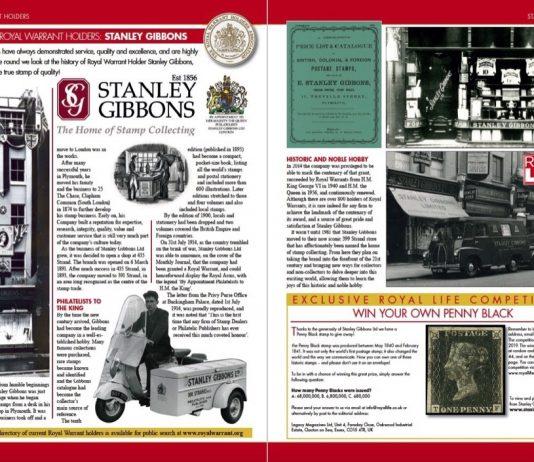 Royal Warrant Holders Stanley Gibbons