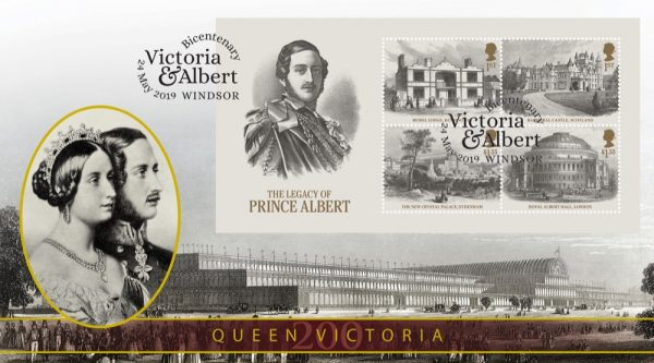 Legacy of Prince Albert Miniature Sheet Stamp Collectable