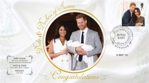 LIMITED EDITION - Royal Baby Sussex Collectable First Day Cover (Pre-Order)