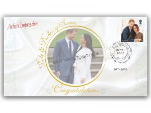 The Duke and Duchess of Sussex Royal Baby Collectable