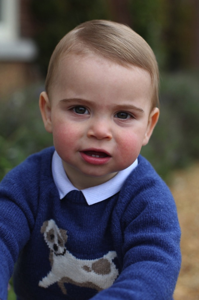 Prince Louis 1st birthday