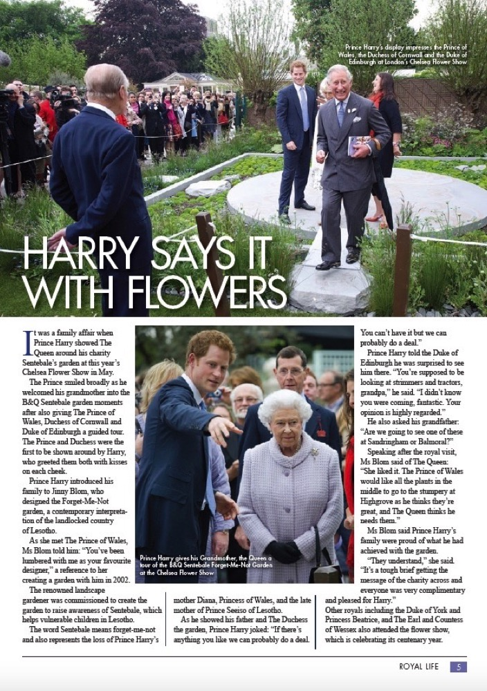 RHS Chelsea Flower Show - Issue 4