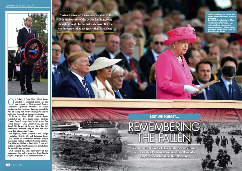 D-Day 75 Commemorations - Remembering the Fallen