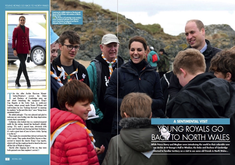 The Duke and Duchess of Cambridge Back in North Wales