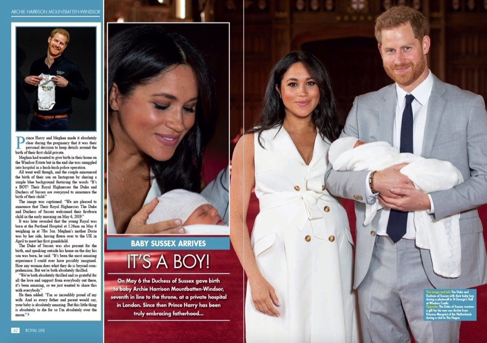 It's a Boy - Meet Archie Harrison Mountbatten-Windsor