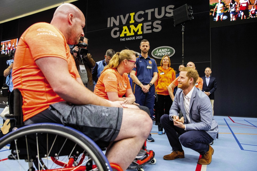 Invictus Games 2020.The Duke Of Sussex Will Attend Team Uk Launch For Invictus