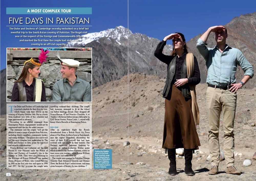 Five Days in Pakistan - The Duke and Duchess of Cambridge