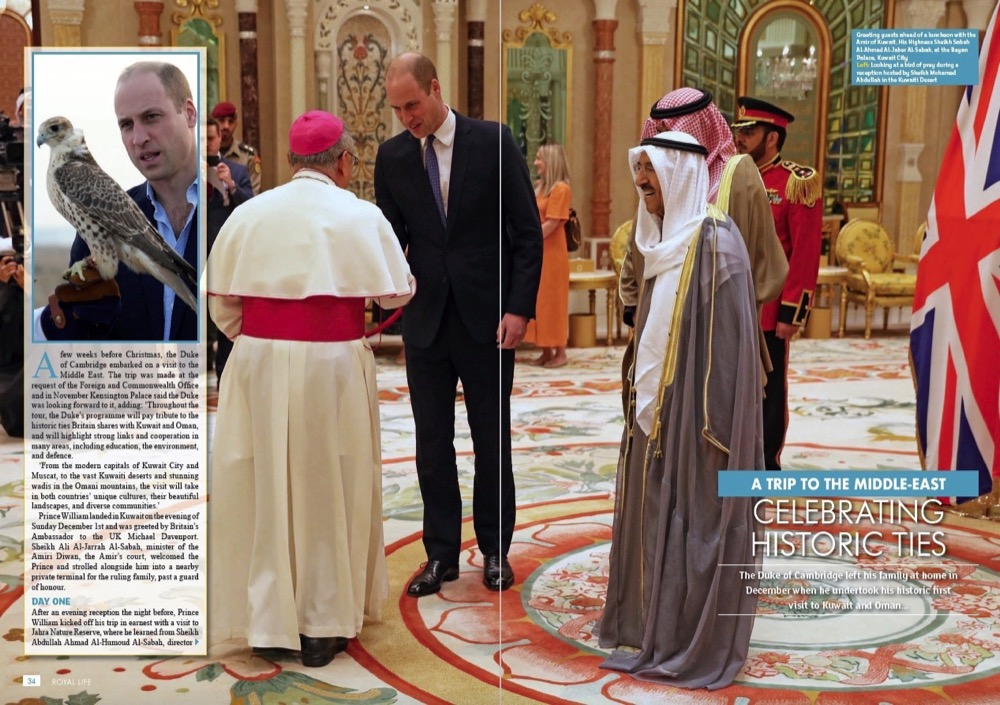 A Trip to the Middle East - Prince William Celebrates Historic Ties
