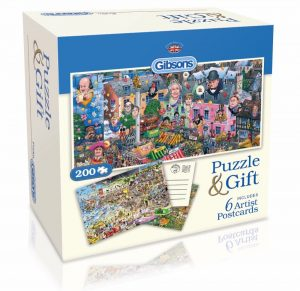 Puzzle and Postcards By Mike Jupp