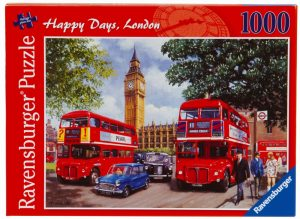 Happy Days London - 1000 Piece Puzzle