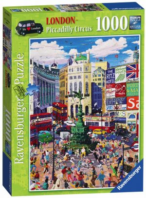 London Piccadilly Circus Puzzle (1000 pieces)