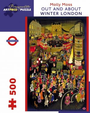 Out and About: Winter London - 500 Piece Puzzle