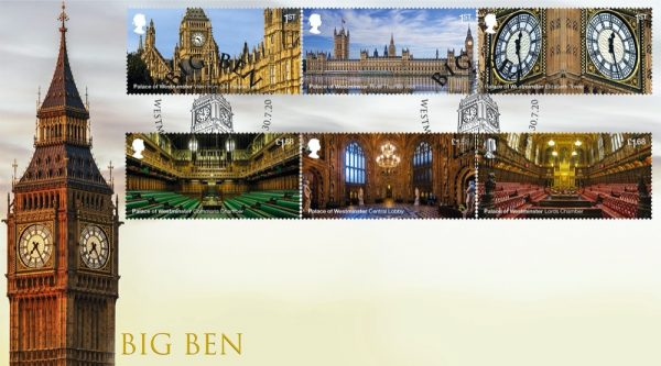 Palace of Westminster First Day Cover