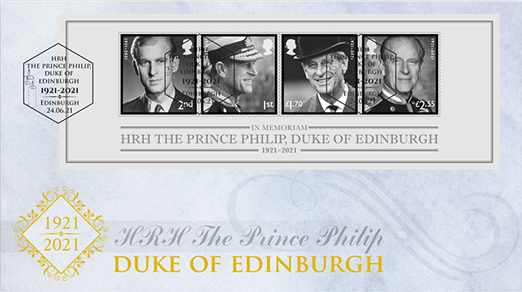 Commemorate the Life and Times of HRH The Prince Philip, Duke of Edinburgh with this poignant stamps collectable.