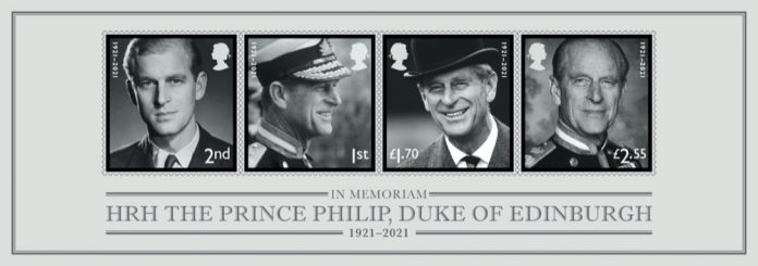 Duke of Edinburgh Minisheet