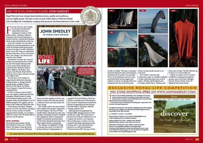 Meet Royal Warrant Holders - John Smedley